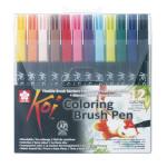 Feutre pinceau Koi Set 12 couleurs