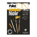 Bloc Paint'On papier Noir 250 g/m² 20 F - 21 x 29,7 cm (A4)