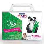 Kit figurine FIMO Tao le panda