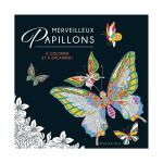 Illustrations à colorier Merveilleux papillons