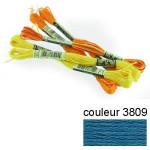 DMC 117 mouliné, fils à broder - couleur 3809