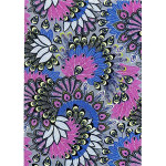 Feuille Décopatch - Imprimé multicolor - 30 x 40 cm