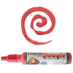 Crayon pour bougies - Rouge