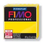 Pâte polymère Fimo Pro 85 g - 100 - Jaune