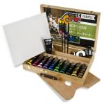 Coffret Peintures acryliques - 12 x 100 ml