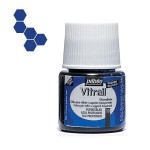 Peinture pour verre Vitrail 45 ml - 10 - Bleu profond