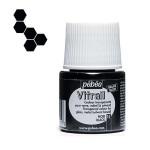 Peinture pour verre Vitrail 45 ml - 15 - Noir