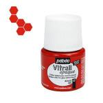 Peinture Vitrail Opaque 45 ml - 45 - Rouge