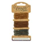 Cordons pour Bracelets Wrapit™ Loom - doré / marron / gris