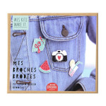Broches brodées Mes kits Make It