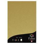 Papier  faire part Pollen A4 210g par 25 couleurs variées - Or
