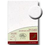 Papier à lettre Eclats d'or A4 21 x 29,7 cm - 20 pcs