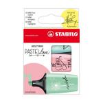 Surligneur Boss Mini Pastels set Pastel Love MRT