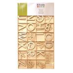 Lettres en bois 6cm 130 pièces
