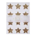 Stickers étoiles dorées x 120 pcs