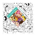Carré à colorier Disney Tsum Tsum