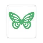 Perforatrice motif Papillon 3,5 cm