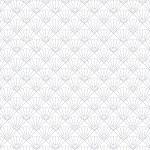 Calque imprimé Japan Sashiko Eventails - 30 x 30 cm