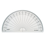 Rapporteur degré 1/2 cercle 16 cm