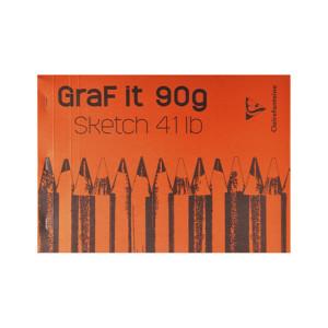 Bloc de croquis Graf It 90g/m² - 21 x 29,7 cm (A4)