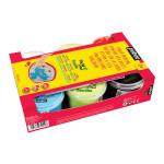 Peinture textile Tactilcolor 6 pots 100 ml
