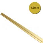 Rail cimaise anodisé Or 150 cm