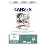 Album de papier C à Grain A3 - 125 g/m² - 30 feuilles