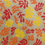 Papier Lokta 50 x 75 cm Mascareignes Rose et jaune