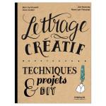 Livre Lettrage Créatif - Techniques & projets DIY