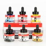 Encre acrylique Amsterdam 30 ml Set 6 couleurs
