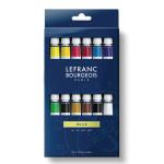 Peinture à l'huile fine LB 12 tubes 10 ml