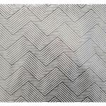 Papier Indien 50 x 70 cm 120 g/m² Feuille d'Argent motif hallucination