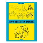 Livre 1000 dessins d'animaux