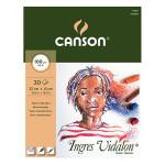 Bloc de papier Ingres Vidalon 100 g/m² - 32 x 41 cm