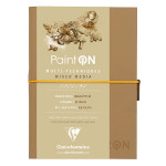 Carnet Paint'On papier Naturel 250 g/m² A5 32 F
