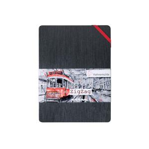 Carnet Zig Zag 300 g/m² 18 pages - 5 x 5 cm