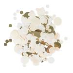 Confettis Ø 2.3 cm Champagne blanc doré 15 g