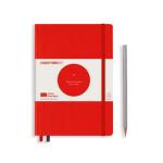 Carnet de notes Limited Edition Bauhaus A5 14,5 x 21 cm Pointillé - Rouge