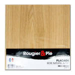 Placage bois naturel Chêne ep. 0,6 mm 30 x 30 cm