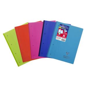 Bloc de cours 22,3 x 29,7 cm ligné 160p perforées Koverbook