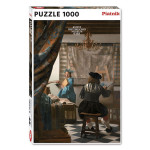 Puzzle Atelier de l'artiste 1000 pièces
