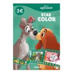 Album de coloriage Star color Disney animaux