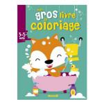 Mon gros livre de coloriage Renard 3/5 ans