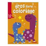 Mon gros livre de coloriage Dinosaure 3/5 ans