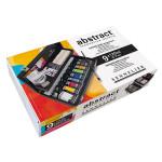 Peinture acrylique Abstract Coffret Noir 9 x 120 ml