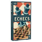 Jeu d'échecs en bois Vintage