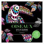 Bloc de coloriage Black Premium Oiseaux