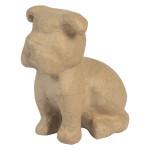 Bulldog assis 15 x 9,5 x 16 cm