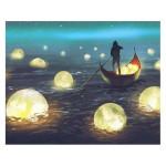 Peinture par numéros Lumières Sur Le Lac