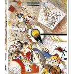 Puzzle Vassily Kandinsky Bustling Aquarelle 1000 pièces